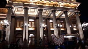 El Teatro Juárez de Guanajuato.