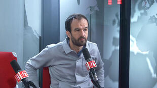 Manuel Bompard sur RFI le 28 janvier 2019.