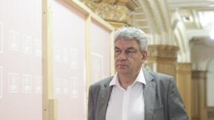 Ông Mihai Tudose được bổ nhiệm làm thủ tướng Rumani, Bucarest, ngày 26/07/2017.