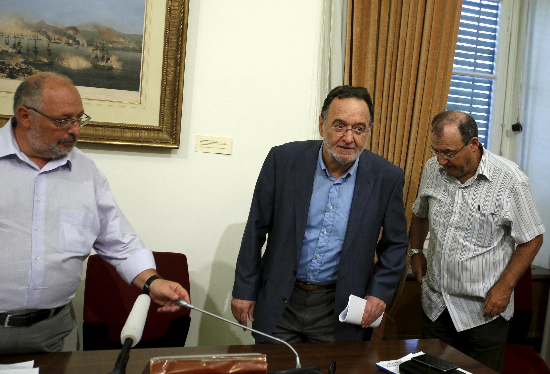 Panagiotis Lafazanis é o chefe de fila da recém-criada Unidade Popular