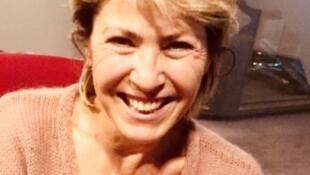 La romancière italienne Simonetta Greggio en studio à RFI (novembre 2018).