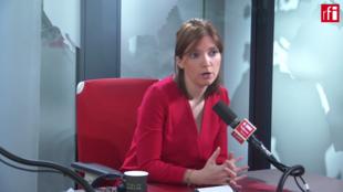 Aurore Bergé sur RFI.
