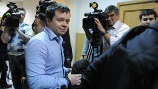 Константин Лебедев в Басманном суде 19/10/2012 (архив)