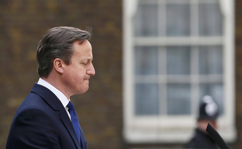 Le Premier ministre britannnique, David Cameron.