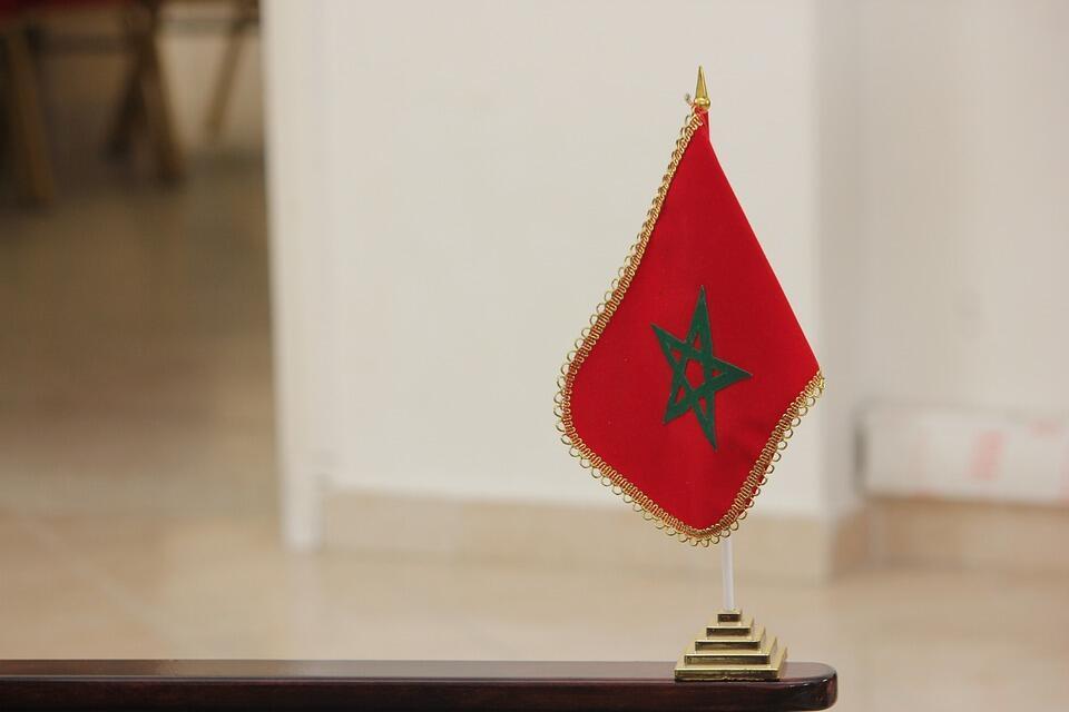 Drapeau marocain.