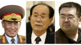 Ông Kim Yong-nam (phải) đã lên tiếng chỉ trích chế độ và quân đội (Reuters)