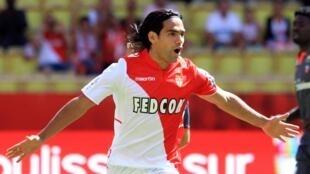 El futbolista Radamel Falcao.