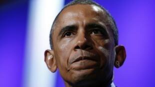 Le président américain Barack Obama, à New York, le 23 septembre 2014.