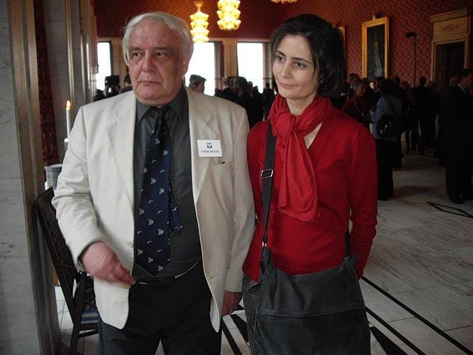 Лидия Юсупова и Владимир Буковский.
