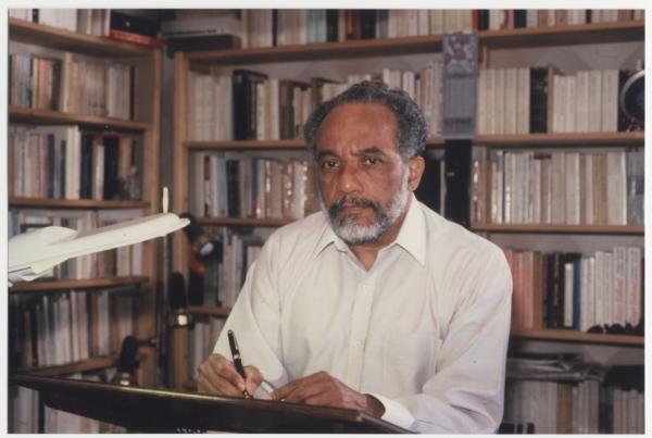 René Depestre, poète de la diaspora haïtienne.