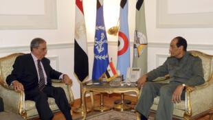ឧត្តមក្រុមប្រឹក្សាយោធាជួបចរចា ជាមួយលោក Mohamed el Baradei