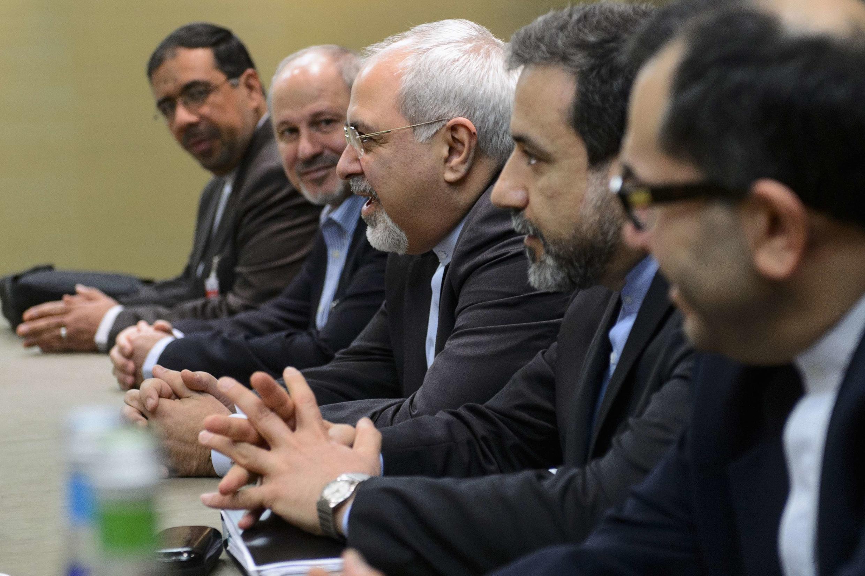 Phái đoàn thương thuyết Iran tại cuộc họp Genève - REUTERS /Fabrice Coffrini