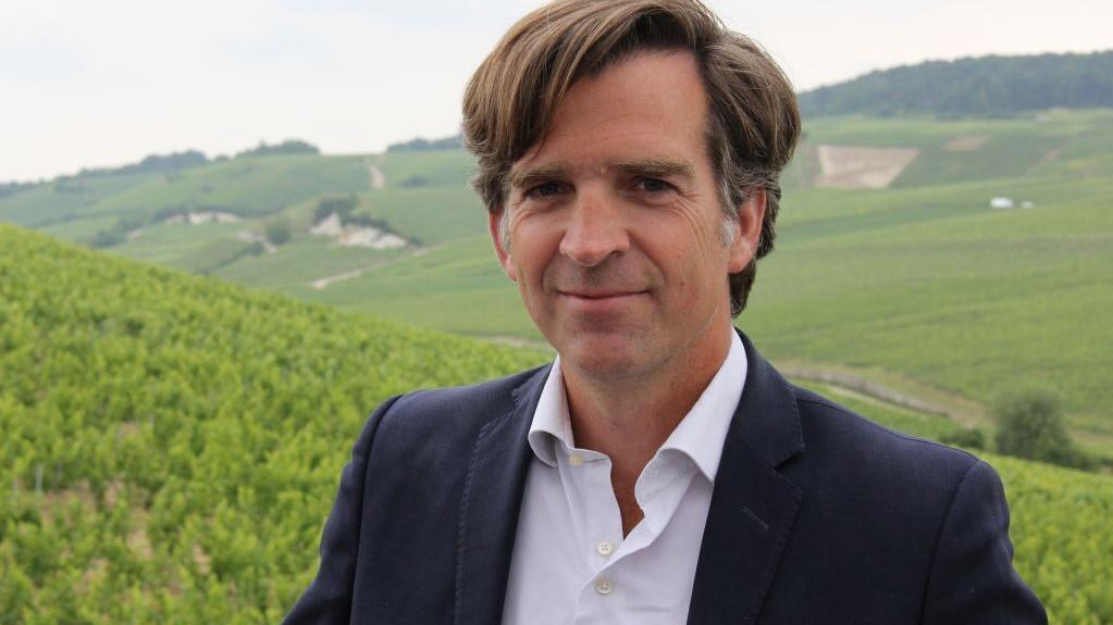 Charles-Armand de Belenet, diretor-geral do Champagne Bollinger.