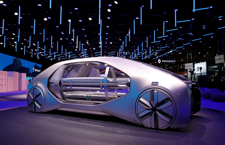 Một concept car của Renault được trưng bày tại Triển lãm xe hơi Paris ( Paris Motor Show ), ngày 02/10/2018.