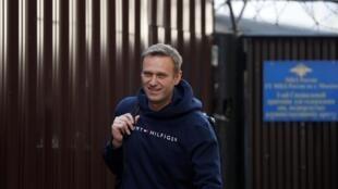 Alexei Navalny é libertado apos 30 dias de detenção.