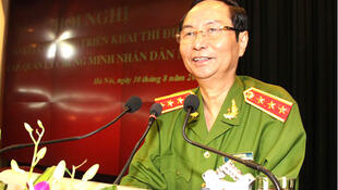 Thứ trưởng Bộ Công an Phạm Quý Ngọ, vừa qua đời ngày 18/02/2014.