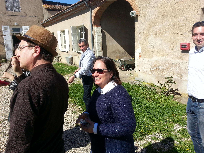 Marie-Laure Greil, directrice de l'unité expérimentale arboricole, qui relève de l'INRA Bordeaux-Aquitaine.