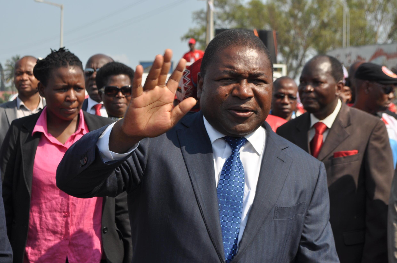 Filipe Nyusi, candidato vitorioso das eleições moçambicanas
