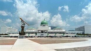 L'Assemblée nationale du Nigeria à Abuja.