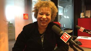 Michèle Hendricks à RFI en 2016.