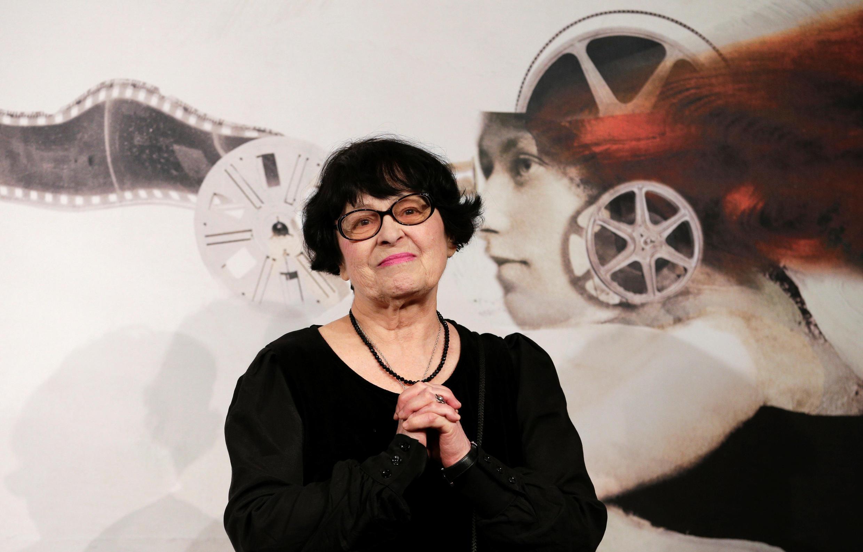 Кира Муратова на Римском кинофестивале в 2012 году.