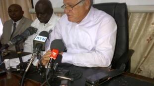 Le secrétaire général de la Fédération démocratique des écologistes au Sénégal, Haïdar el-Ali.