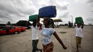 Abidjan, le 7 avril 2011.
