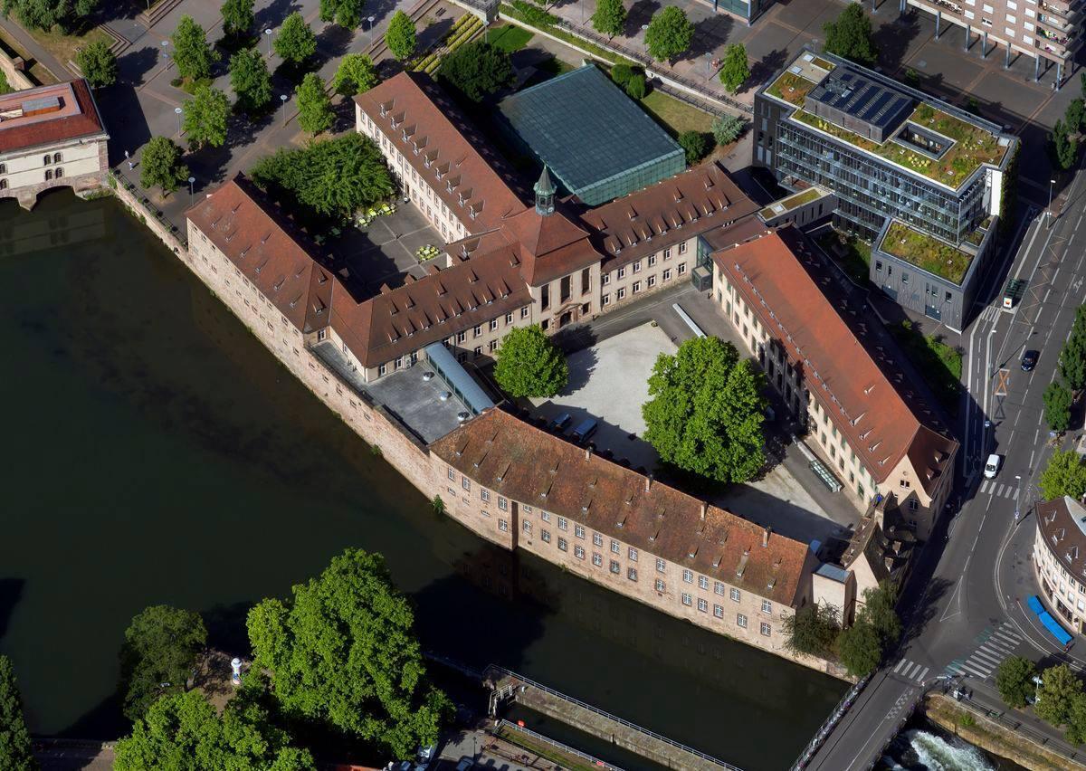 La Escuela Nacional de Administración (ENA), en Estrasburgo, Francia.