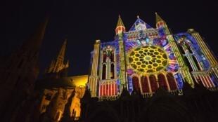 El portal sur de la catedral de Chartres.