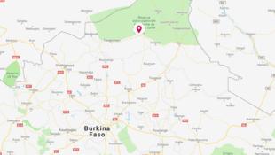 Situation du village de Sikiré dans le nord du Burkina Faso.