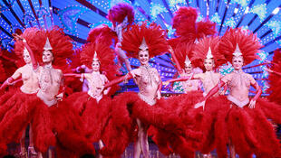 The Moulin Rouge's colourful dancers come from 14 different countries.