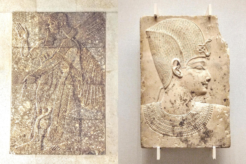 Các tác phẩm quý hiếm thời Ai Cập và Hy La cổ đại cùng với các báu vật phương Đông thuộc nền văn hóa Lưỡng Hà
