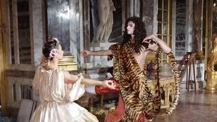 The immersive show 'A Kings Tour' recreates festivities at the Versailles Palace during Louis XIV's time