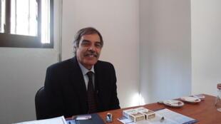 Ali Tarhouni, ancien ministre et nouveau président de l'Assemblée constituante libyenne.