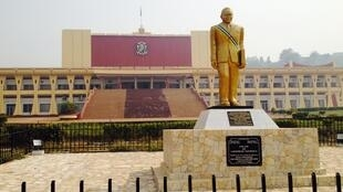 L'Assemblée nationale centrafricaine, Bangui.