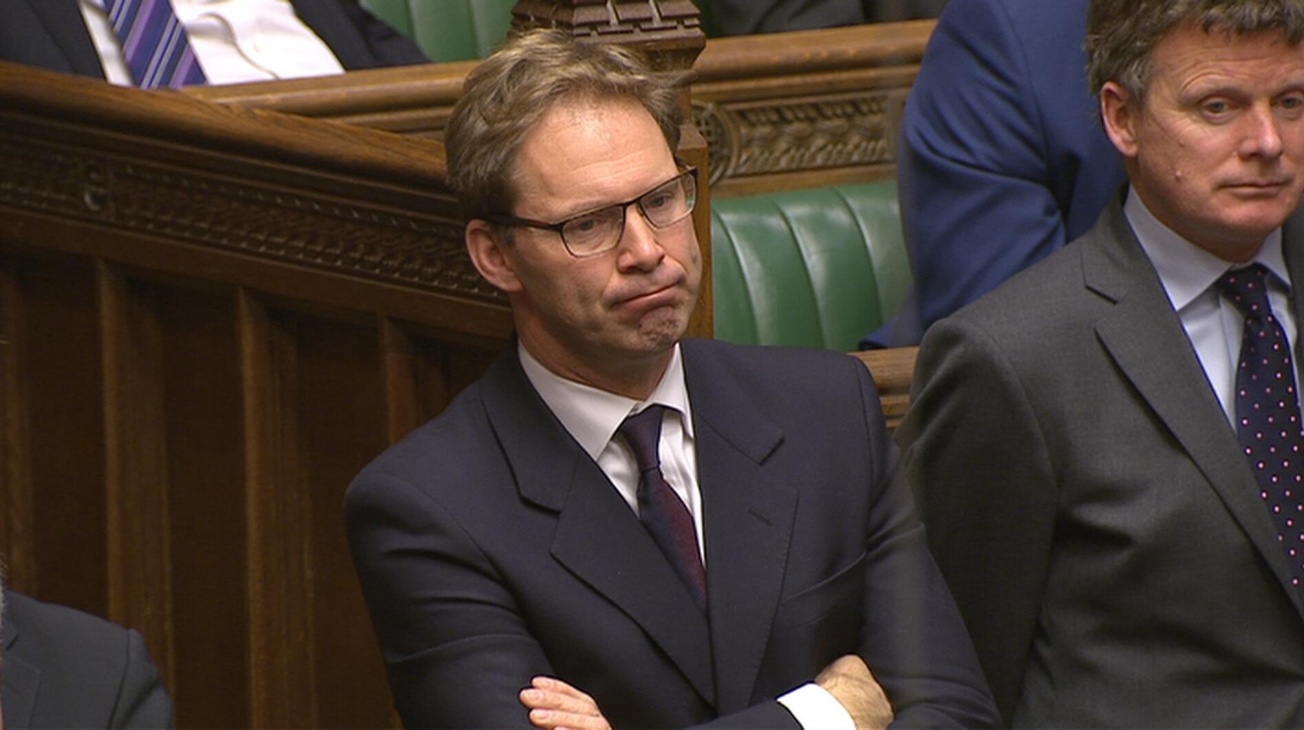 Le parlementaire Tobias Ellwood, au lendemain de l'attaque de Westminster à Londres, le 23 mars 2017.