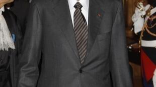 Jacques Chirac, le 6 janvier 2011.