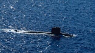 France - sous-marin nucléaire - Emeraude