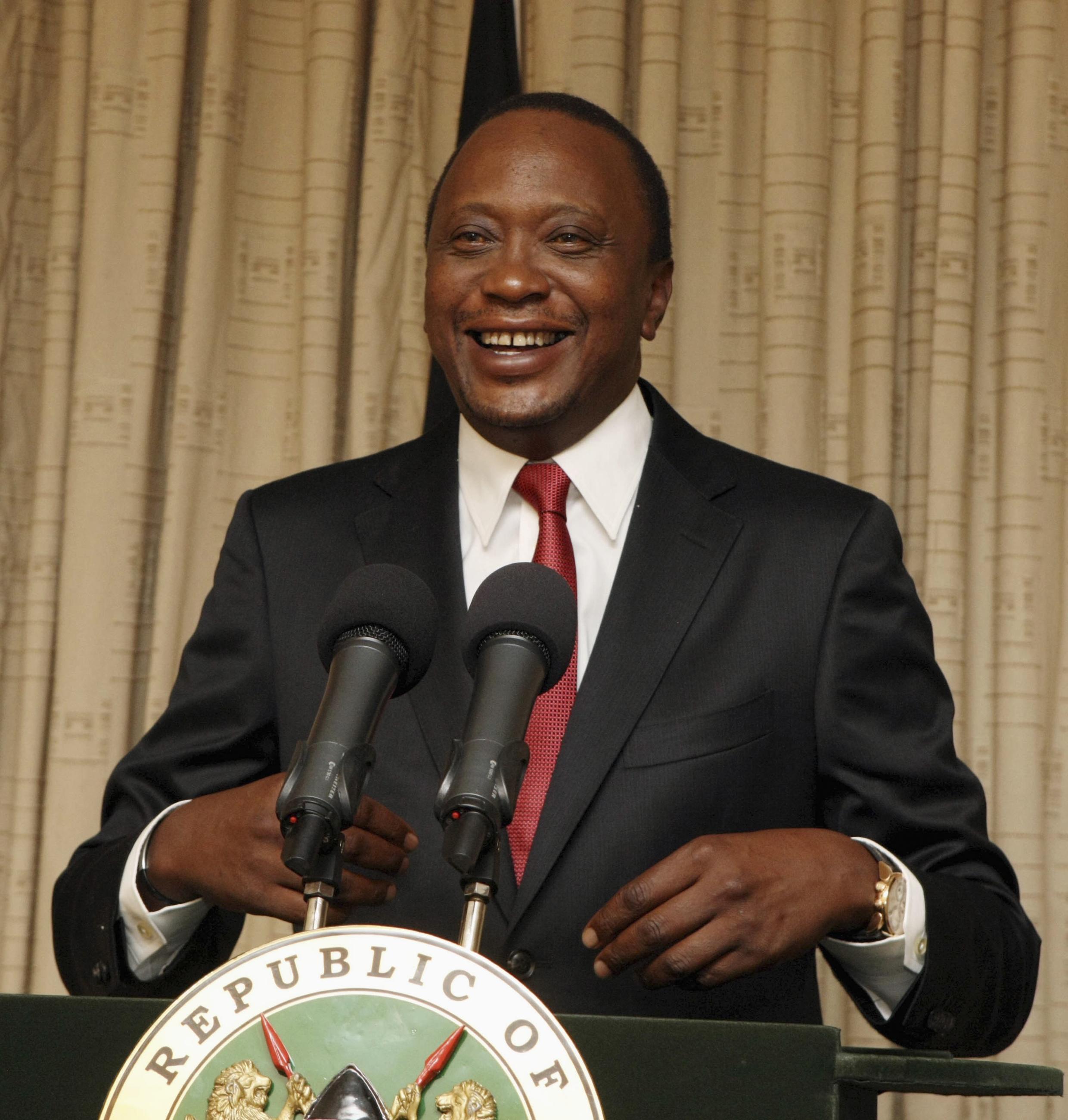 Rais wa Kenya Uhuru Mwigai Kenyatta