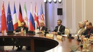 """نمایندگان جمهوری اسلامی ایران در مذاکرات """"آلماتی ٢ """" . پنجم آوریل ٢٠١٣"""