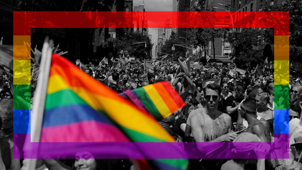L'arc-en-ciel, union des couleurs et identité plurielle au service du combat politique