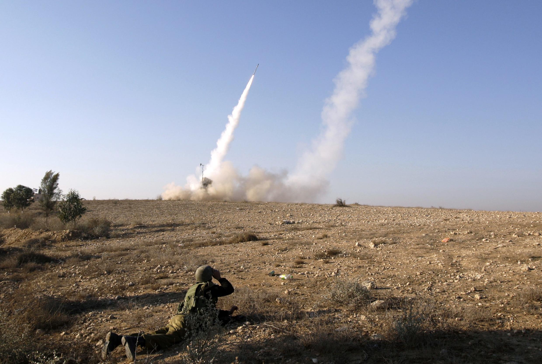 Conflito se intensificou entre Gaza e Israel, nesta quinta-feira.
