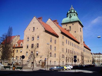 Le palais de justice de Stockholm.