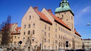 Palácio de Justiça de Estocolmo.
