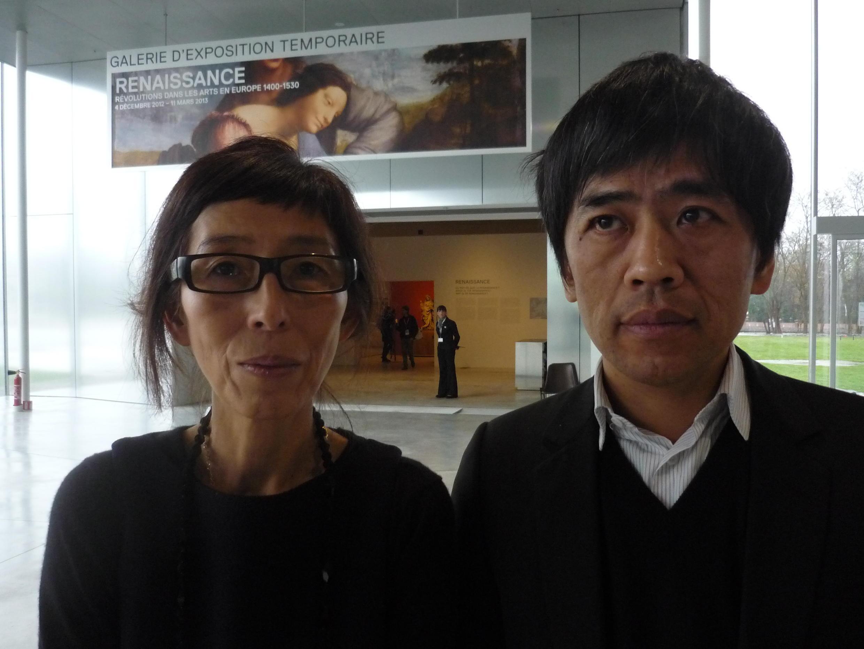 Les architectes du Louvre-Lens : Kazuyo Sejima et Ryue Nishizawa.