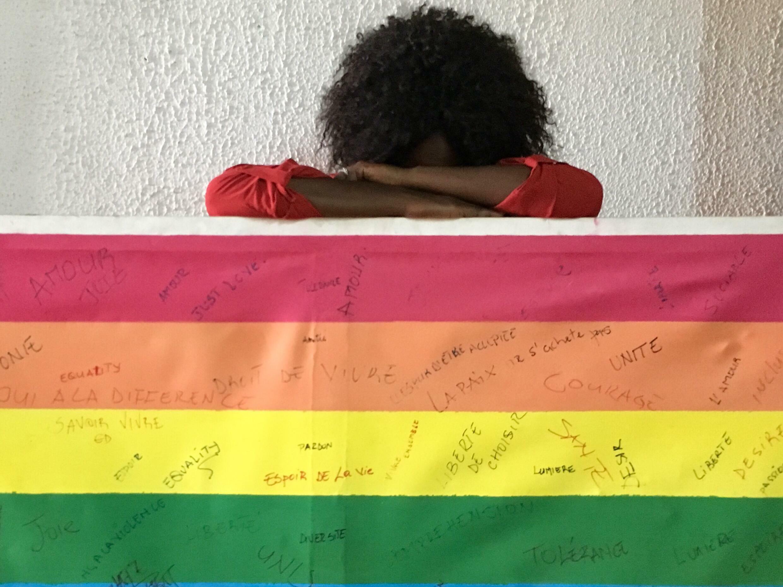 Une victime des violences LGBT, au Cameroun, en 2018 (illustration).
