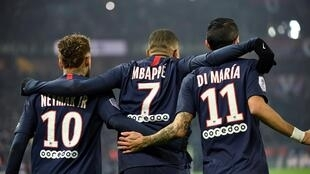 Strikers Neymar, Kylian Mbappé and Angel Di Maria have helped Paris Saint-Germain reach their first Champions League final.