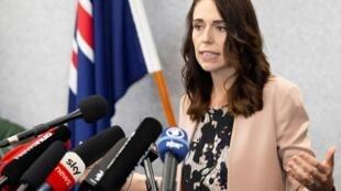«Nous avons éradiqué pour l'instant la transmission du virus en Nouvelle-Zélande», a déclaré la Première ministre, Jacinda Ardern (notre photo).
