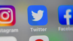 Captura de pantalla de íconos de redes sociales.