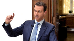 بشار اسد رئیس جمهوری سوریه - تصویر آرشیوی